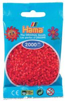 malte haaning Plastic Mini-Perlen 2000 Stück rot (501-05)