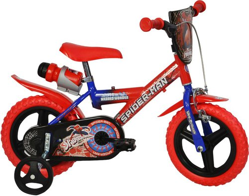 dino bikes kinderfahrrad 12 zoll spiderman g nstig kaufen. Black Bedroom Furniture Sets. Home Design Ideas