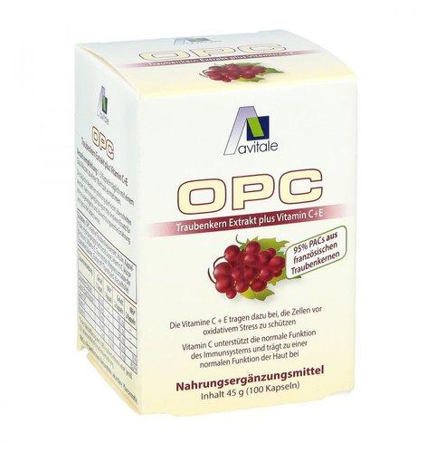 avitale OPC Traubenkern Extrakt Kapseln (100 Stk.)