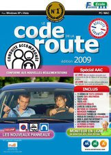 Avanquest Passage de permis Code de la route AAC 2009 (Win/Mac)