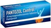 Nycomed Pantozol Control 20 mg Tabletten Magensaftresistent (7 Stk.)