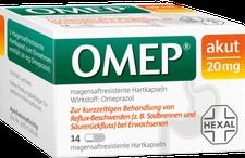 Hexal Omep akut 20 mg Hartkapseln (PZN 3276903)
