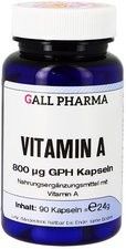 Hecht Pharma Vitamin A 800 Æg Gph Kapseln (90 Stk.)