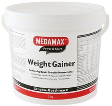 Megamax Weight Gainer Schoko Pulver (3000 g)