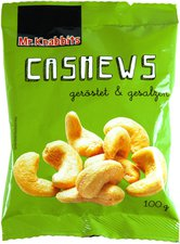 Mr. Knabbits Cashews (100 g)