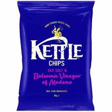 Kettle Foods Chips Sea Salt & Balsamic Vinegar ...