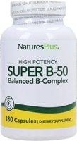 Nature's Plus Super-B-50 Kapseln (180 Stk.)