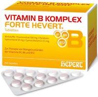Hevert Vitamin B Komplex Forte Tabletten (PZN 5003960)