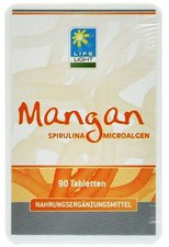 ApoZen Mangan Spirulina Hefefrei Tabletten (90 Stk.)