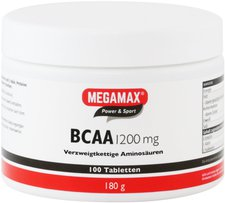 Megamax Bcaa 1200 mg Tabletten (100 Stk.)