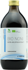 ApoZen Bio Noni Wildfruchtsaft Pur (500 ml)
