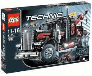 LEGO 8285 Technic: Großer schwarzer Abschlepptruck