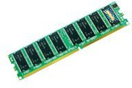 Transcend 1GB DDR PC-3200 (TS1GDLXPS) CL3