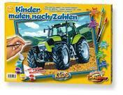 Schipper Malen nach Zahlen Traktor