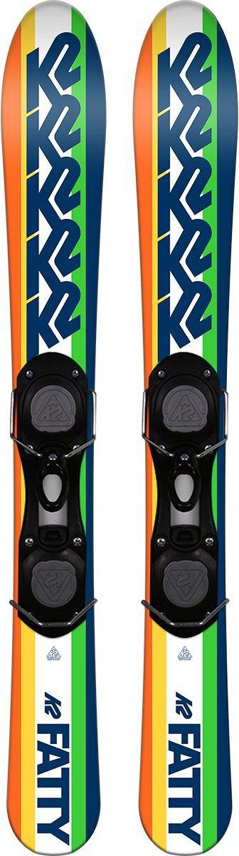 Head Snowblades Razzle Dazzle 94cm Ski-Sets Sicherheitsbindung Neu