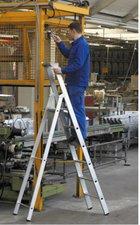 Zarges Z500 gebördelte 6 Stufen-Stehleiter 41596