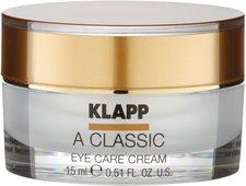 Klapp A Classic Eye Care Cream