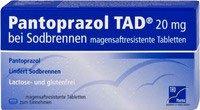 Tadiran Pantoprazol 20 Mg magensaftr. Tabletten (7 Stk.)