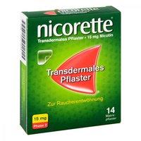 McNeil Nicorette TX Pflaster 15 mg (14 Stk.)