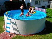 Summer Fun Standard Rundform-Aufstellbecken 360x90cm