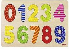 goki Einlegepuzzle Zahlen