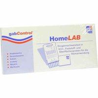 Gabmed Drogentest Homelab 6-fach Testset 1 Stück