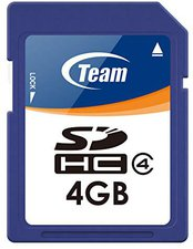Team Group SDHC Card 4 GB Class 4