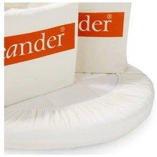 Leanderform Bettlaken für Babywiege (2x)