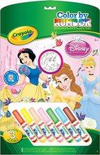 Crayola Malen nach Zahlen Disney Princess (55522)