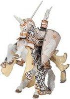Papo Ritter: Waffenmeister mit Pferd Silber Edition