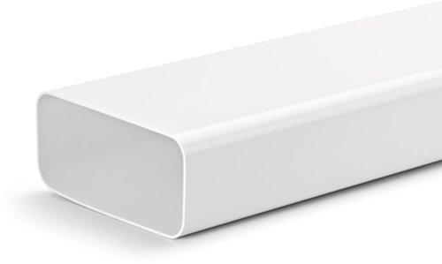 Flachkanal-Rohr
