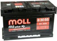 MOLL m3 plus K2 Doppeldeckel 12 V 85 Ah (83085)