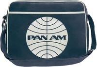 Logoshirt Pan Am Globe Schultertasche