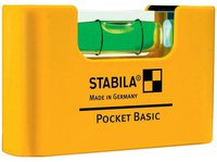 Stabila Pocket Basic 68 MM (Mini Wasserwaage)