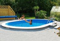 my pool Premium Ovalbecken 490x300x120 cm