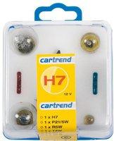 Cartrend Glühlampenbox H7 7-teilig