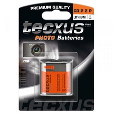 Tecxus 1x CR P2P Photo Batterie