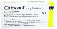 Dermapharm Chinosol Tabletten 0,5 (5 Stück)