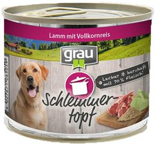 Grau Schlemmertopf Lamm mit Vollkornreis (200 g)