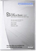 Microsoft Office 2007 Basic V2 MLK (OEM) (EN)