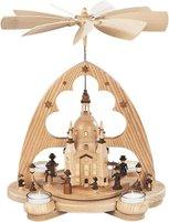 Müller Kleinkunst 1-stöckige Pyramide Frauenkirche (36 cm)