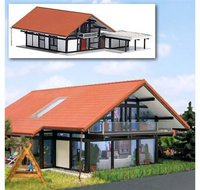 Busch HUF Haus braun/rot (8246)