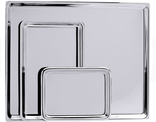 Contacto Auslageplatte 49 x 32 cm Edelstahl (580/700)