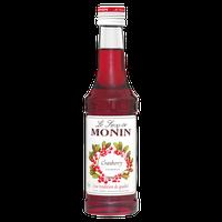 Monin Sirup Cranberry 0,25 Liter