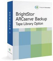 Computer Associates BrightStor ARCserve Backup Tape Library Option (Win)