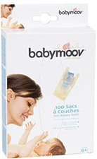 Babymoov Einweg-Windelbeutel mit Anti-Geruch-System (100 Stück)