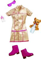 Barbie Ich wäre gern... Tierpflegerin Mode Sortiment (R7597)