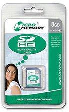 MicroMemory SDHC Card 8 GB Class 10