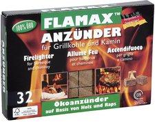 Flamax Ökologische Anzünder 32 Würfel in Zellophan