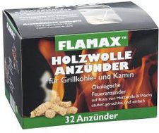 Flamax Ökologische 32 Anzünd Mäuse (Schachtel)